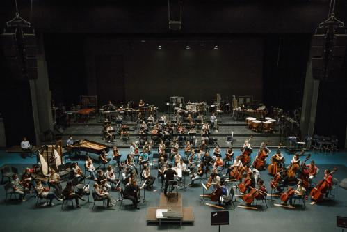 LUCERNE FESTIVAL ACADEMY Orchestra 2015 | Rehearsal with Matthias Pintscher