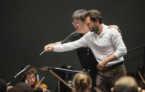 Master Class in Conducting   Alan Gilbert    Petr Popelka