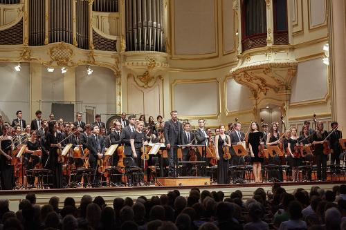 Orchestra of the LUCERNE FESTIVAL ACADEMY |  On Tour in Hamburg Laeiszhalle