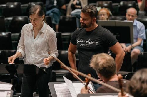Masterclass in Conducting with Matthias Pintscher